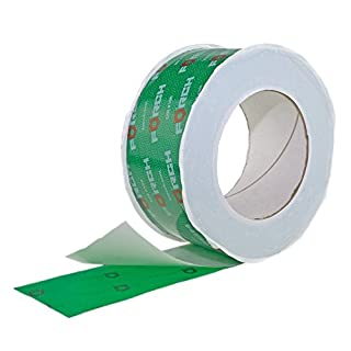 Klebeband 50mm x 25 lfm für Dampfbremse Dampfsperre Dampfsperrfolie Dampfbremsfolie OSB - Systemklebeband grün