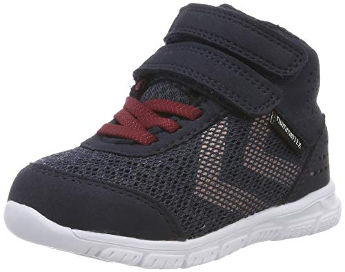 hummel Mädchen Crosslite MID TEX JR Sneaker, Grau (Graphite 2786), 38 EU