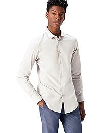 T-Shirts Herren Schmales Smokinghemd