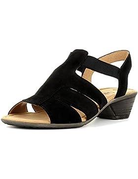 Gabor Damenschuhe 44.543.01 Damen Sandalen, Sandaletten mit verbreiterte Auftrittsfläche