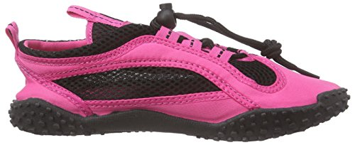 Playshoes Badeschuhe, Aquaschuhe, Surfschuhe Neonfarben, Chaussures de Sports Aquatiques Mixte Adulte Rose (pink 18)