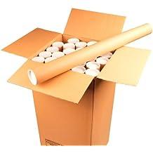 Ambassador - Tubo para envío postal de documentos (cartón, 76 x 890 mm, 12 unidades)