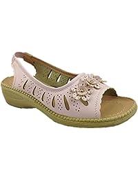 Foster Footwear Zapatos de Vestir Chica Mujer, Color Azul, Talla 36.5