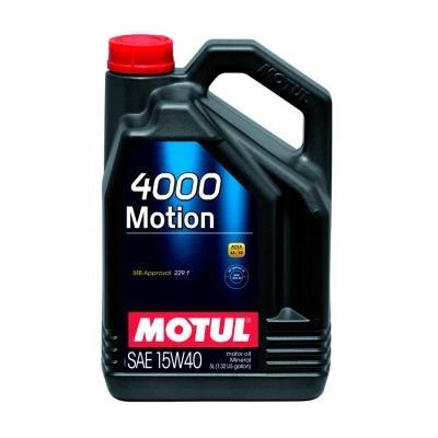 Motore olio lubrificante 4000 MOTION 15W40 5L