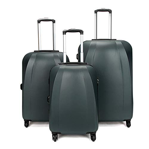 Mode Koffer Koffer Hartschalengepäck 3-teiliges Set 20in 24in 28in Spinner Koffer Leichte geschachtelte Sets Carry-on Uprights Koffer 360 ° Silent Spinner Multidirektionale Laufräder für Männer Frauen