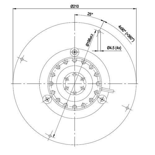 Zoom IMG-2 ventola motore estrattore fumi per