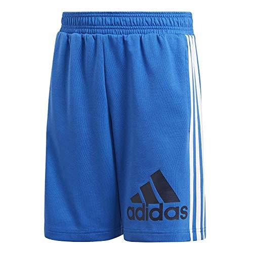 adidas Jungen Must Haves Shorts Blue/Collegiate Navy 128 (Marathon Kordelzug)