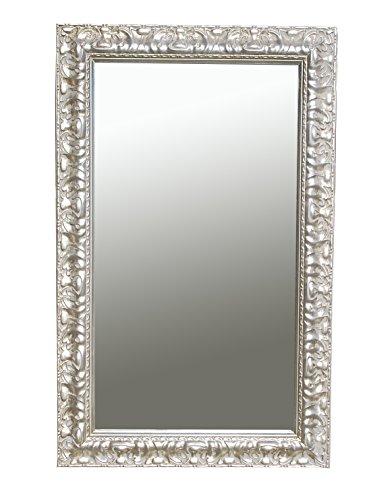 B.U.S. Wohnstyle GmbH Spiegel Wandspiegel Stella antik Silber 80 x 50 cm
