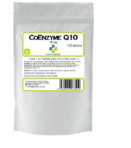 Co Enzyme Q10 30mg (Co-Q10) 120 comprimés