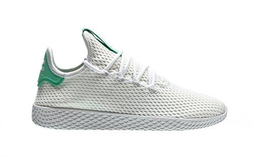 adidas-Pw-Tennis-Hu-Scarpe-da-Fitness-Uomo-BiancoVerde-FtwblaFtwbla-Briver-36-EU