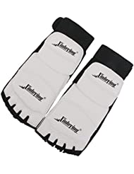 Taekwondo Protege-pieds Chaussette - xinluying 1 Paire Protege-pieds Chaussette Protection de Pied pour Taekwondo MMA Karate (S)