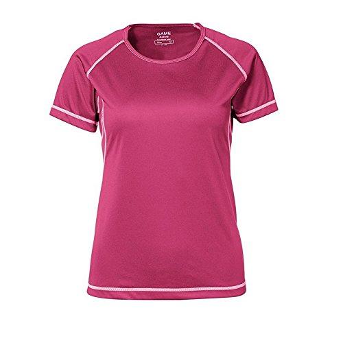 ID - T-shirt sport à coutures plates - Femme Rose