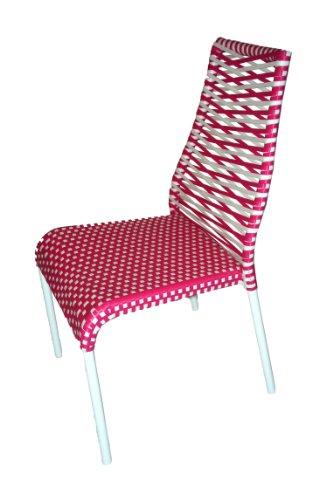 Chalet et jardin Chaise Primavera rouge