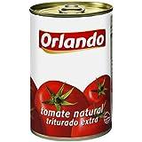 Orlando - Tomate Natural Triturado, Lata 400 g - [Pack de 6]