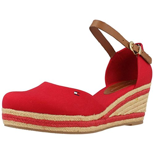 Sandali per le donne, color Rosso , marca TOMMY HILFIGER, modelo Sandali Per Le Donne TOMMY HILFIGER ELBA 18D Rosso Rosso