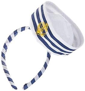 Boland - Sombrero de marinero para mujer, color blanco (44356)