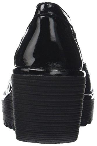 FLY London Damen Yano838fly Pumps Schwarz (Black)