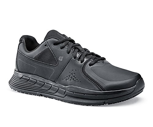 falcon schuhe Shoes for Crews 26730-40/6.5 FALCON II rutschhemmende Turnschuhe, Damen, Größe 40 EU, Schwarz