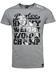 BENLEE T-Shirt WORLD CHAMP - Marl Grey