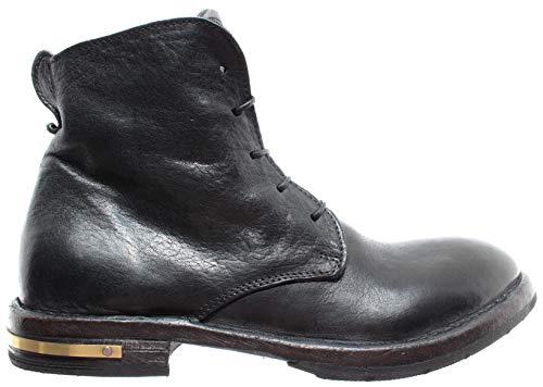 996ed193883 MOMA Zapatos Mujer Botines 81801-2A Cusna Nero Piel Vintage Made In Italy  New