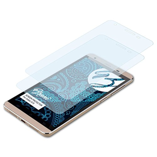 Bruni Schutzfolie für Cubot X15 Folie, glasklare Bildschirmschutzfolie (2X)
