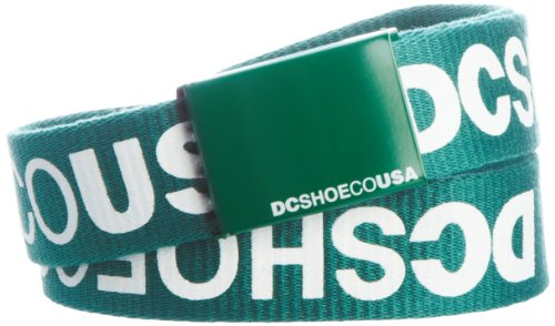 DC Shoes Facebook 5 Reversible Belt, Herren, Grün (Immergrün), 120 Print Reversible Belt