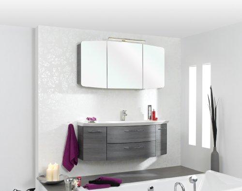 Cassca Pelipal Badmöbel Set 120cm Waschtisch mit Unterschrank (ohne Spiegelschrank), A036544-1