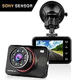 Dashcam Autokamera Full HD 1080P Dash Camera Auto SuperEye DVR Recorder mit 170° Weitwinkelobjektiv Bewegungserkennung WDR Parkmonitor G-Sensor (Nachtsicht mit Infrarot)