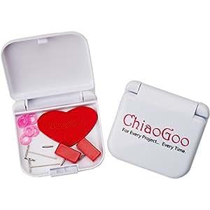 ChiaoGoo Twist pizzo rosso mini kit, acrilico, multicolore, 3pezzi
