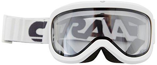 Carrera Skibrille Skermo OTG Weiß-Stripes