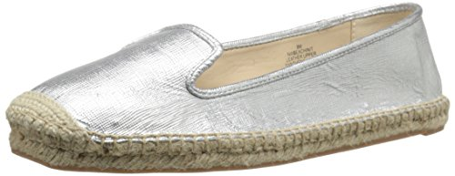 Nove Espadrille Metallic occidentale Beachinit Silver Mt