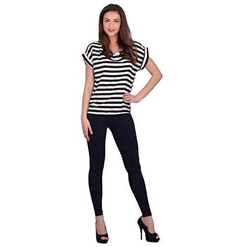 Leggings Jeggings for Women Girls Premium Quality Cotton Polyster Western Wear Stretchable Ankel Length Solids Color Free Size Compatible for Sports-wear, Yoga-wear, Arobics-wear , Party-wear, Casual-wear neopink M  available at amazon for Rs.299