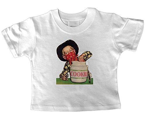 Biscotti 1952-T shirt White 6-12 mesi