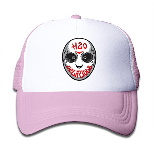 roung H2O Delirious Totenkopf Maske Youth Kinder Mädchen Jungen Kinder Baseball Cap, Jungen, rose