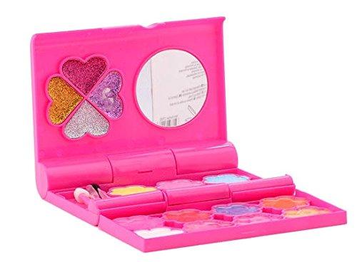 Isabella Schminkschatulle mit Spiegel Make up Set mit 18 verschiedenen Farben