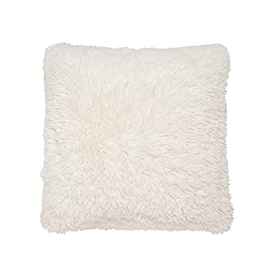 Cream Cuddly Soft cushion Cover Sold By Katie Malones - inexpensive UK light shop.