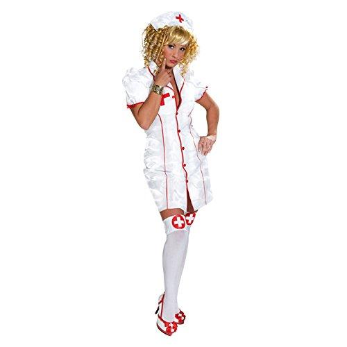 SALE Damen-Kostüm Sexy Krankenschwester Gr. 38