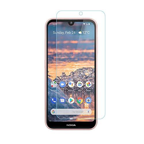 iPro Accessories - Pellicola protettiva per Nokia 3.2, in vetro temperato, 5D, compatibile con custodia Nokia 3.2, antigraffio, infrangibile, durezza 9H
