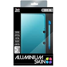 Skin Protection Aluminium + Stylet - Icy Blue Pour 3DS XL [Importación Francesa]