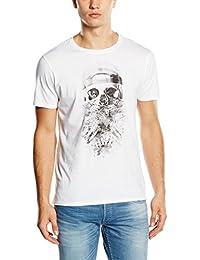Japan Rags Leafskull - T-shirt - Imprimé - Manches courtes - Homme