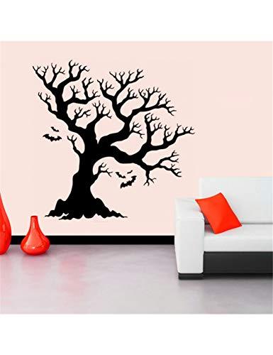 JEDNF Aufkleber Halloween Hintergrund Wandaufkleber Fenster Dekoration Aufkleber Wallstickers