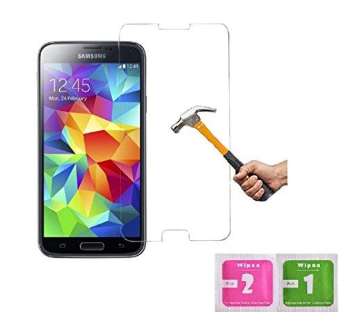 ino Panzerglas Bildschirmschutzfolie für Samsung Galaxy S5 / S5 Neo / S5 LTE+ / S5 Duos Transparentes Schutzglas Panzerfolie Folie Handy Schutzfolie Bildschirmschutz Glasfolie Echtglas Bildschirmschutz klar