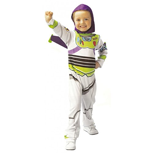 (Toy Story Buzz Lightyear Kostüm Classic in Box, Kinder, Größe S (Rubie 's Spain 883769-s))