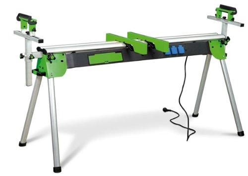 Stürmer Holzkraft 5900020 Holzkraft Universal Werktisch UWT 3200, ausziehbar bis 2,4 m, (für Kappsägen/Bandschleifer usw.), klappbar-5900020