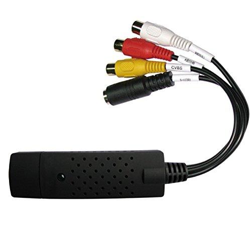 Preisvergleich Produktbild Rybozen USB 2.0 Audio/Video Konverter - Digitalisieren und bearbeiten Sie Videos von jeder analogen Quelle einschließlich VCR VHS DVD