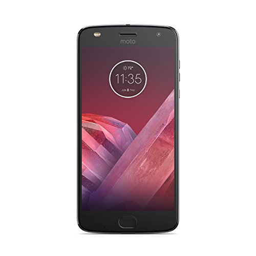 Motorola Moto Z2 Play 64 GB (Single Sim) UK SIM-Free Smartphone - Lunar Grey