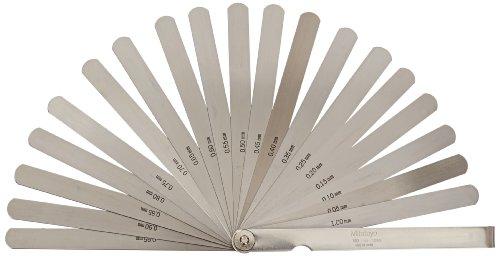 Mitutoyo 184-304S Fühlerlehre 0,05-1 mm