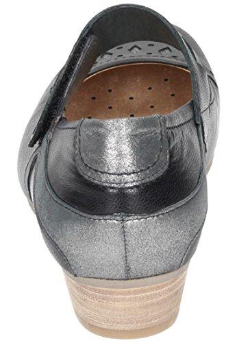 CUSHY Dr.Brinkmann Damen Ballerinas, braun, 840671-2 schwarz