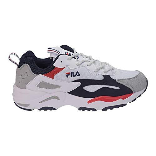 Fila Herren Sneakers Heritage Ray Tracer weiß 41 (Für Von Herren Fila Tennis-schuhe)