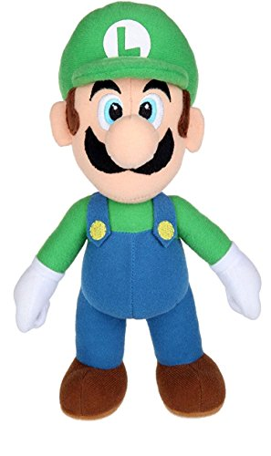 Super Mario-Kong-Luigi-Toad-Yoshi,Plush,Soft Toys,5 Characters Available! (Luigi :38cm)